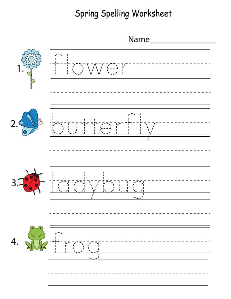 Worksheet Works for Kids
