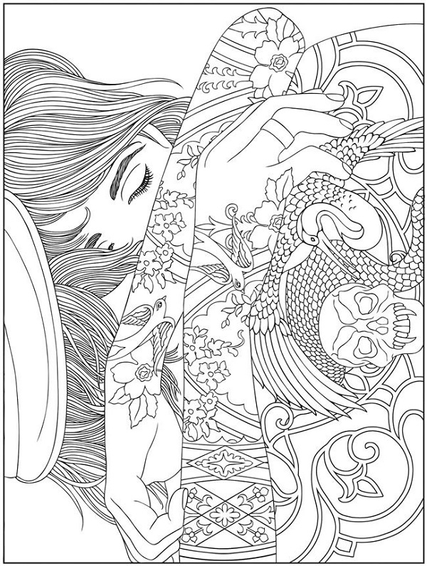 Free Printable Coloring Books Adult