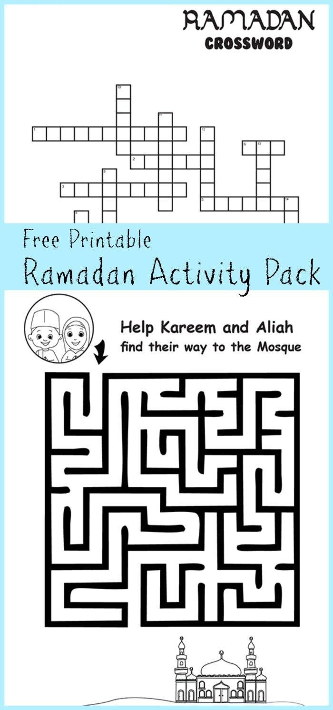 Printable Activities Ramadan