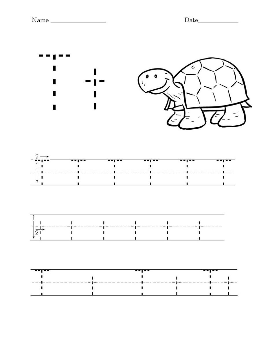 Worksheet Printables T