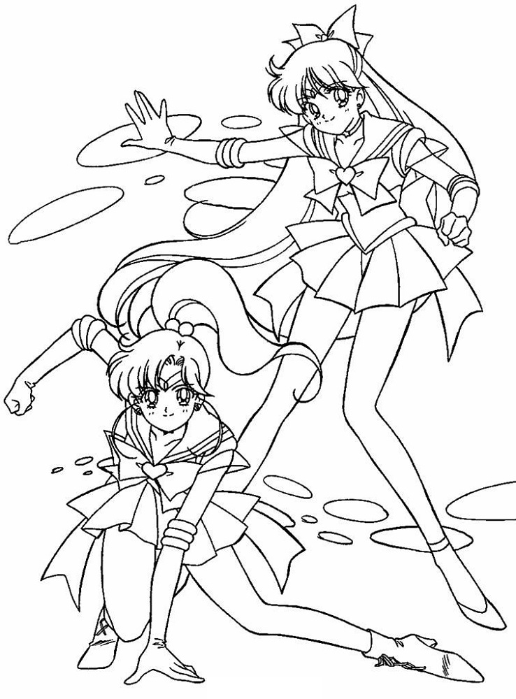 Coloring Book Pictures Anime