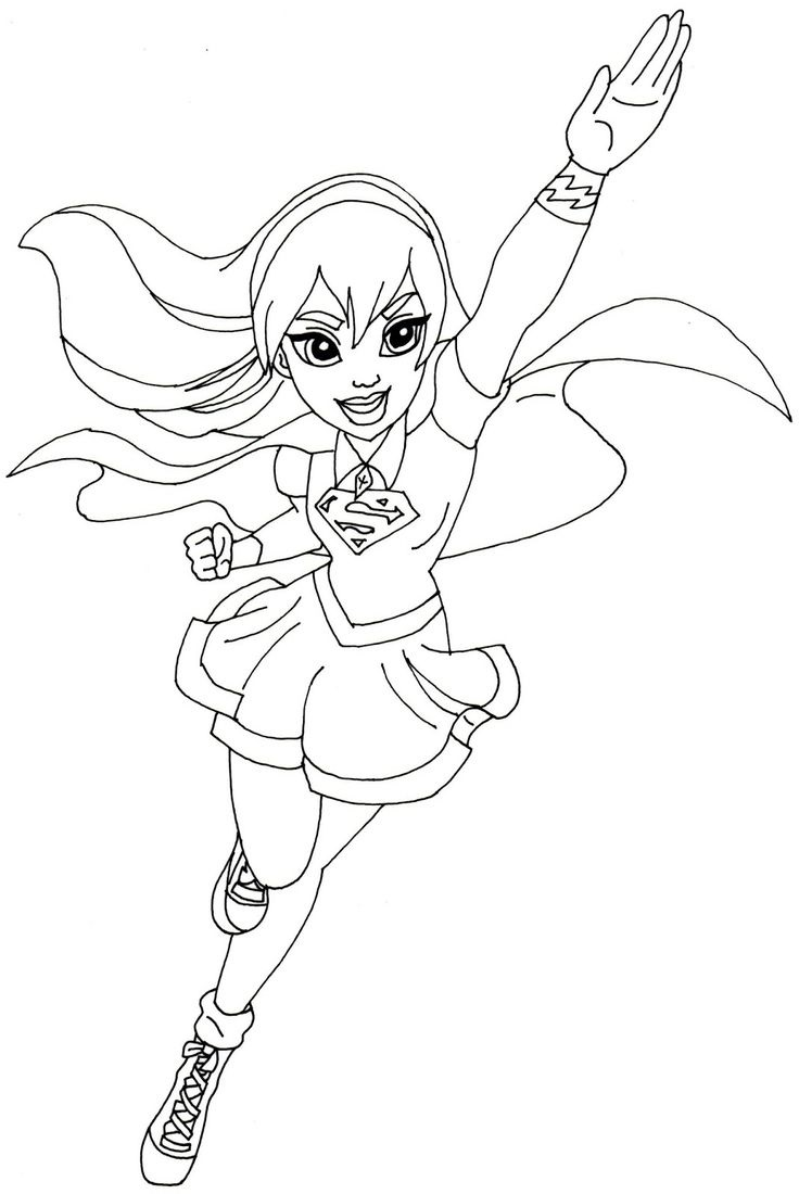 Coloring Book Pictures Hero