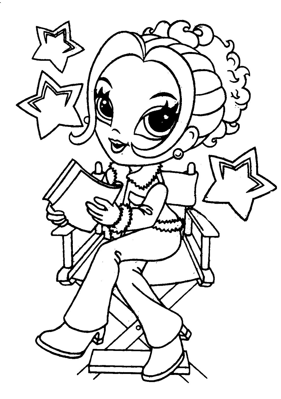 Coloring Sheets for Girl