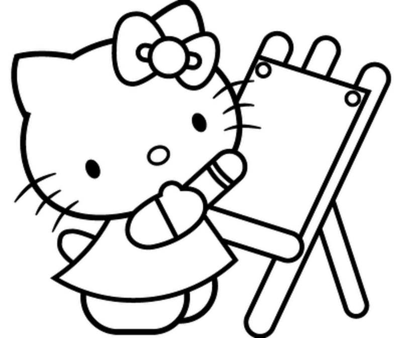 Online Coloring Book for Children