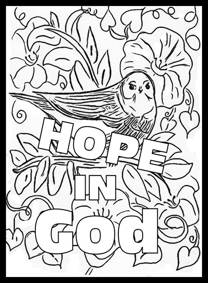 Online Coloring of Hope