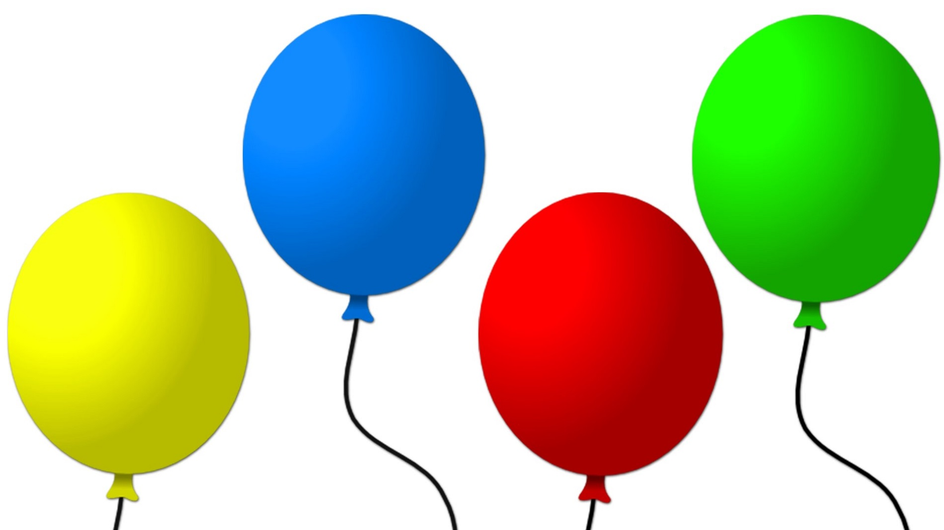 Balloon Colors for Children