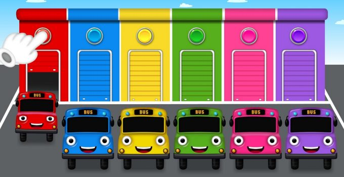 Bus Colors for Children