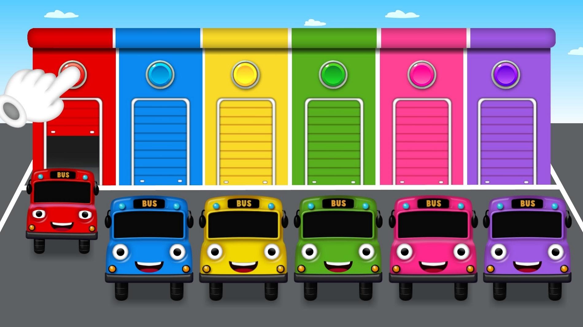 Bus Colors for Children