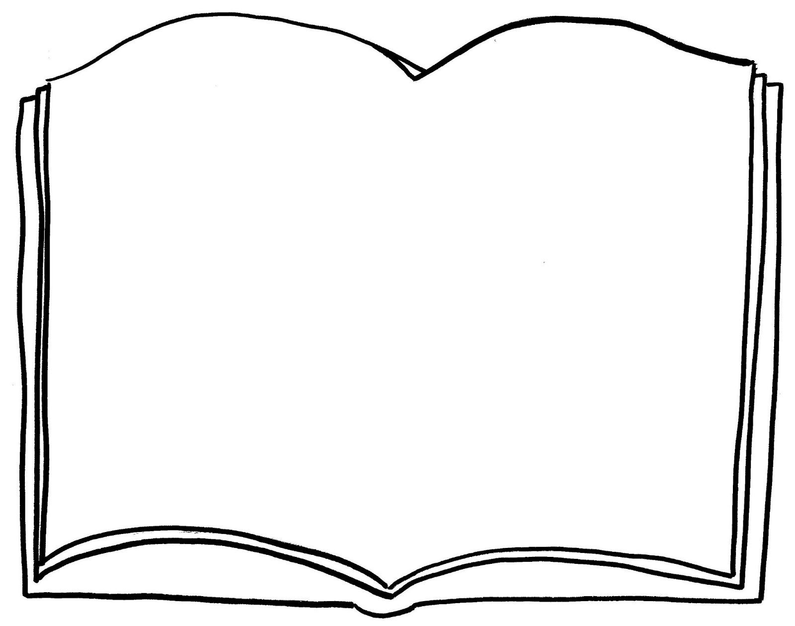 Coloring a Book Blank
