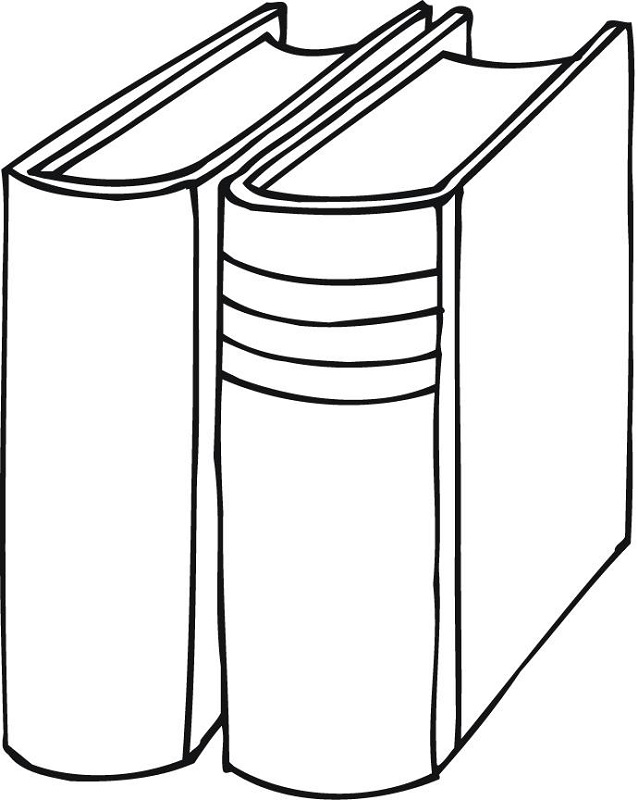 Coloring a Book Printable