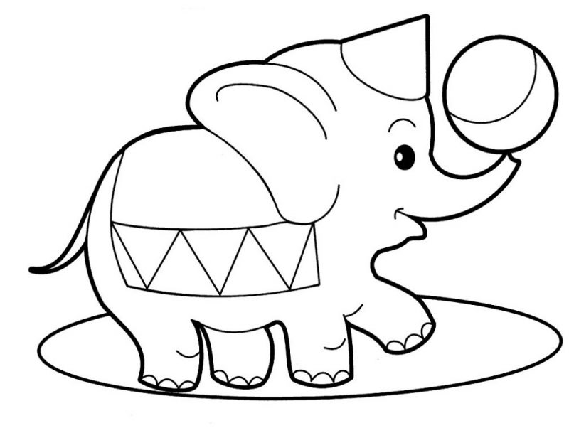 Printable Coloring Sheets for Toddlers