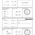 2nd Grade Worksheets Math