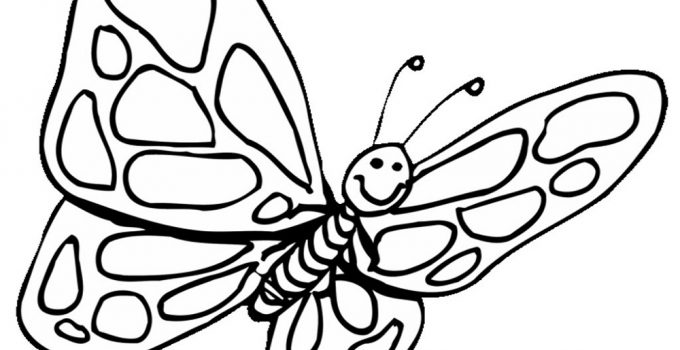 Butterfly Coloring Pages Preschool
