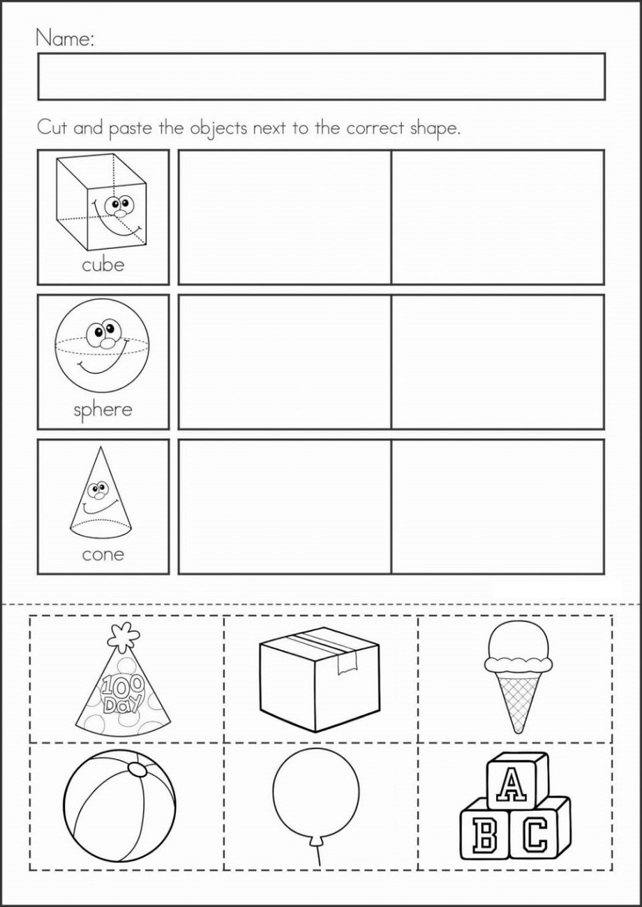 Free Homework Sheets Shapes