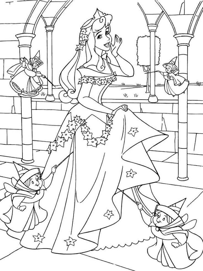 Disney Printable Coloring Pages Adults