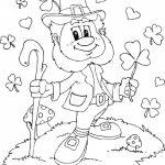 Leprechaun Coloring Pages Printable