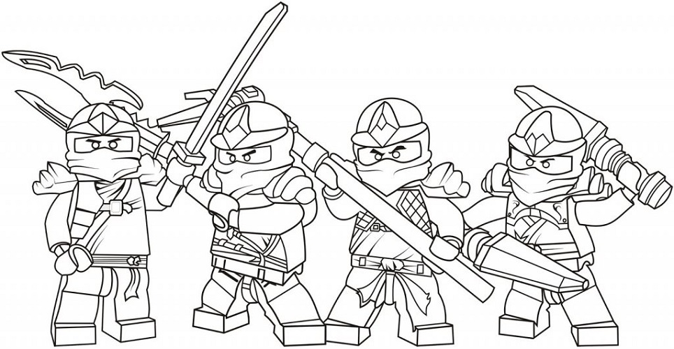 Cool Coloring Pages for Boys