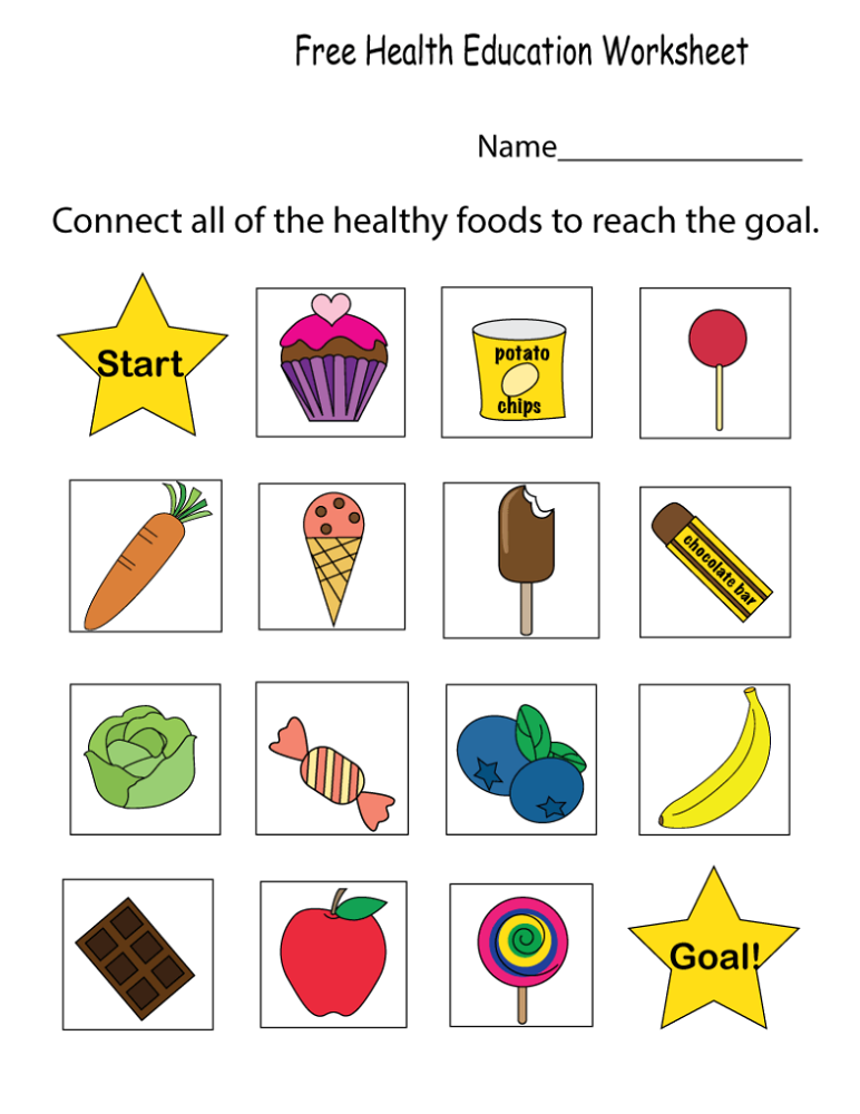 Educational Printables Kindergarten