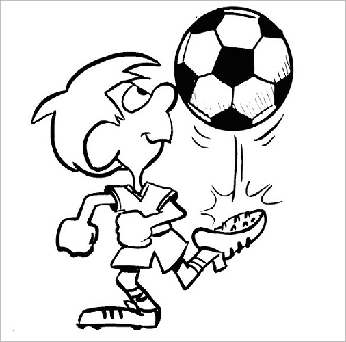 Football Coloring Pages for Boys