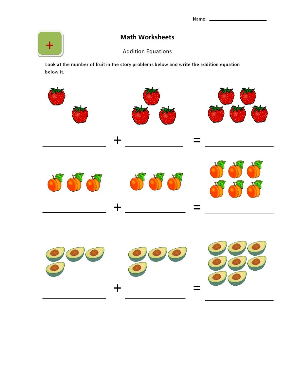 Worksheets for Esl Students Addition