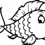 Coloring Sheets for Kindergarten Fish