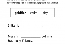 Learning Activities for 5 Year Olds Printable Grammar