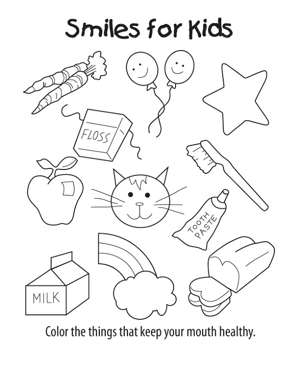 Free Printable Activities for Toddlers Coloring