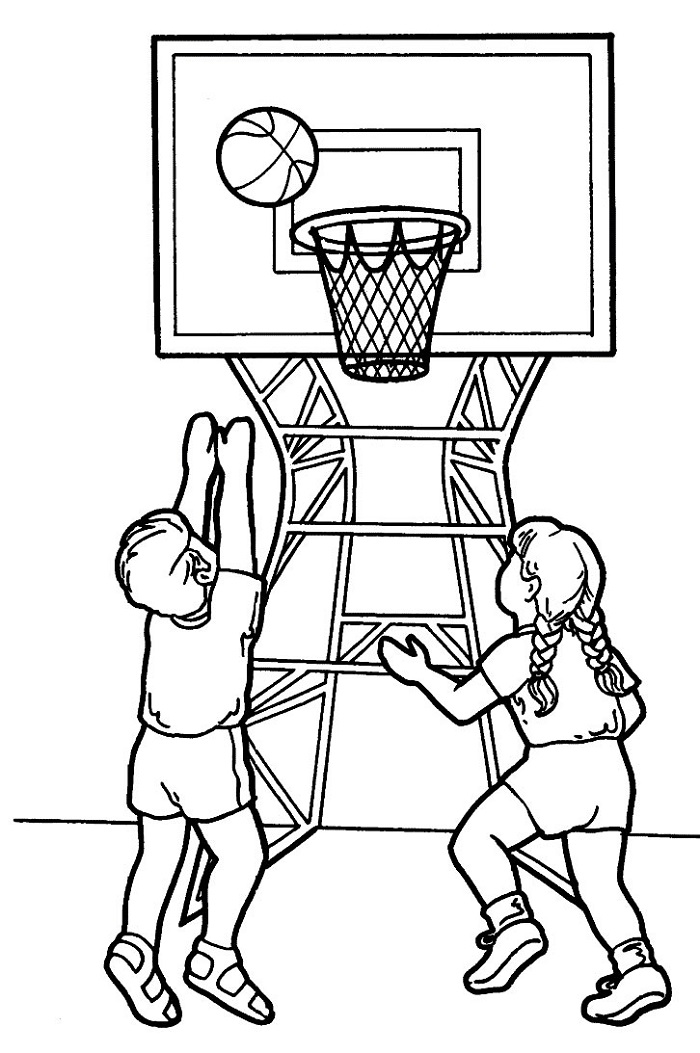 Colouring Pictures for Toddlers Sport