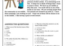 Worksheets for Elementary Students Reading