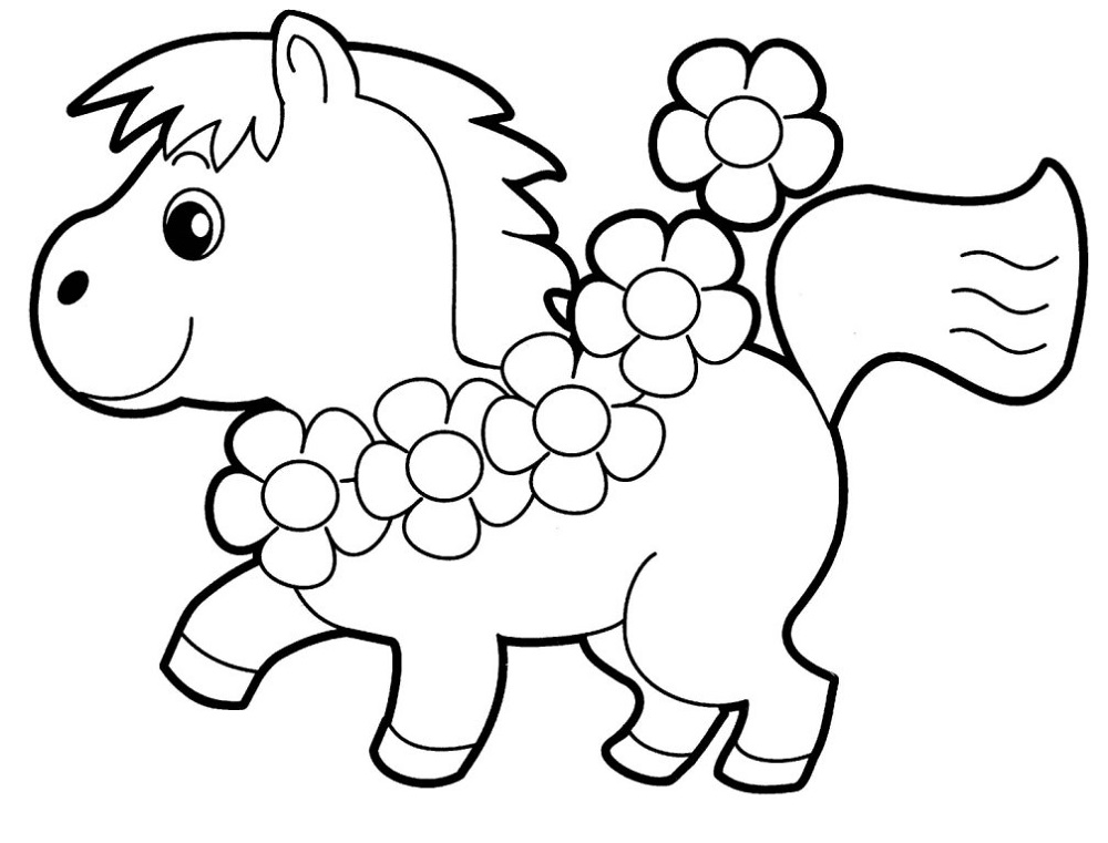 Kindergarten Coloring Pages Free Animal