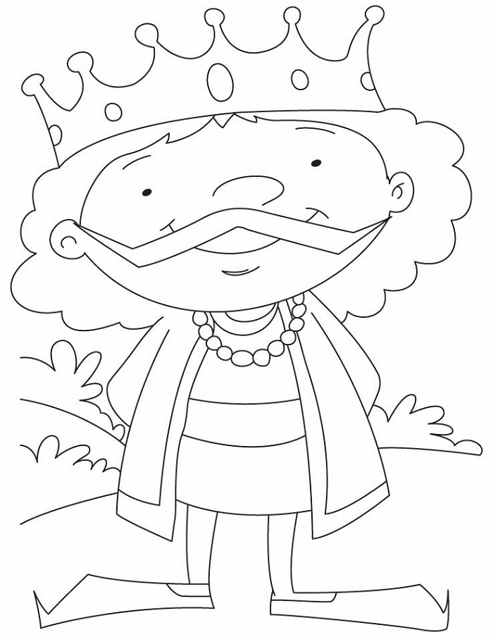 Online Coloring for Kids King