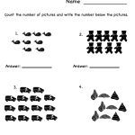 Fun Worksheets for Kindergarten Counting