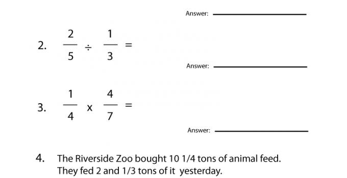 Seventh Grade Math Worksheets Algebra