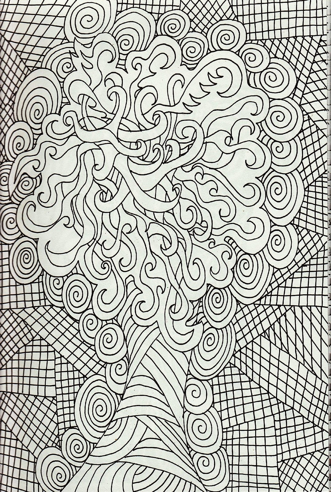 Free Coloring Pages Online for Adults