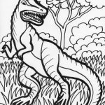 Free Coloring Pages for Kids Dinosaurs