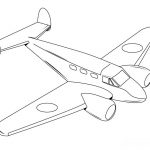 Free Printable for Kids Plane