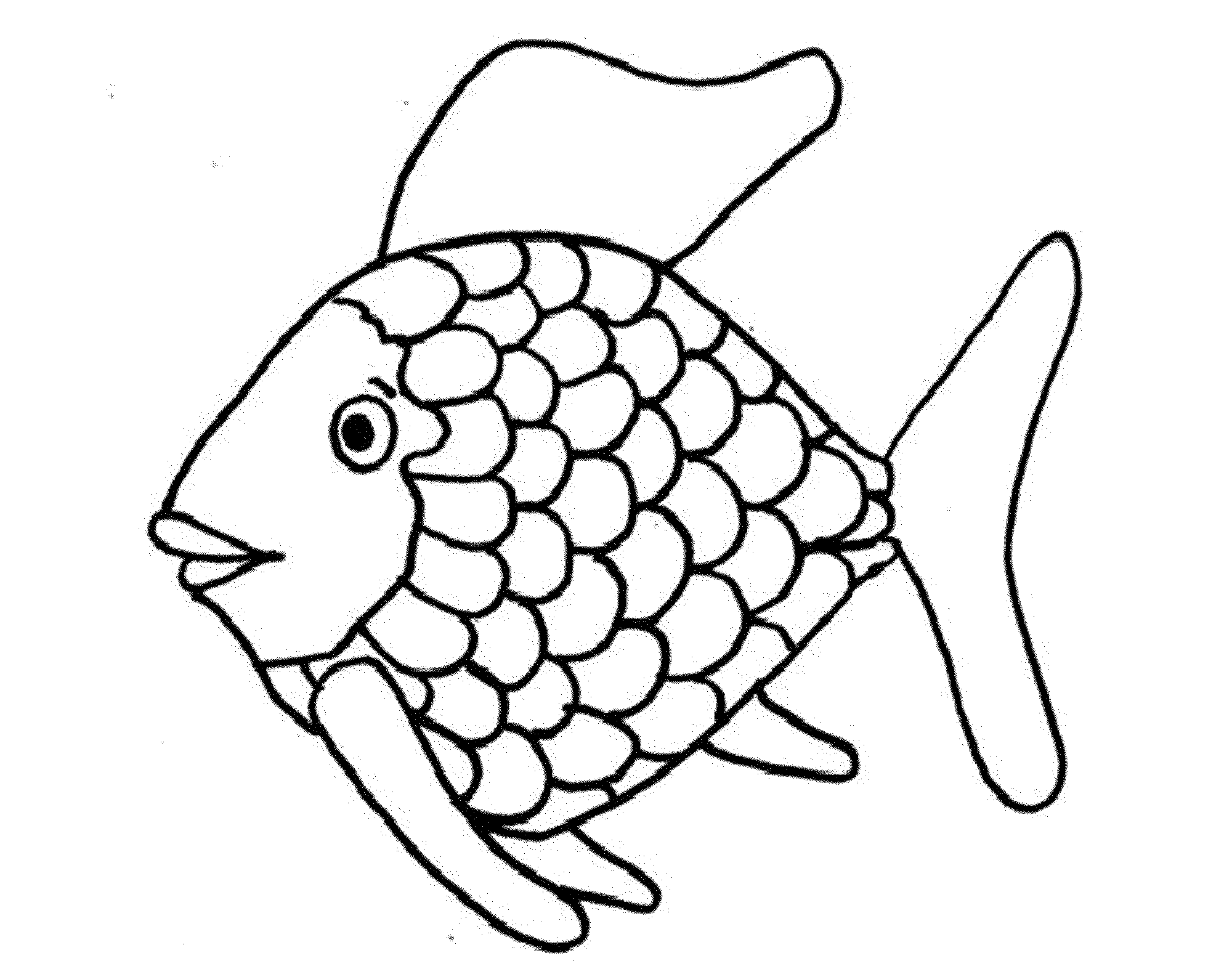 Printable Coloring Pages for Kids Fish