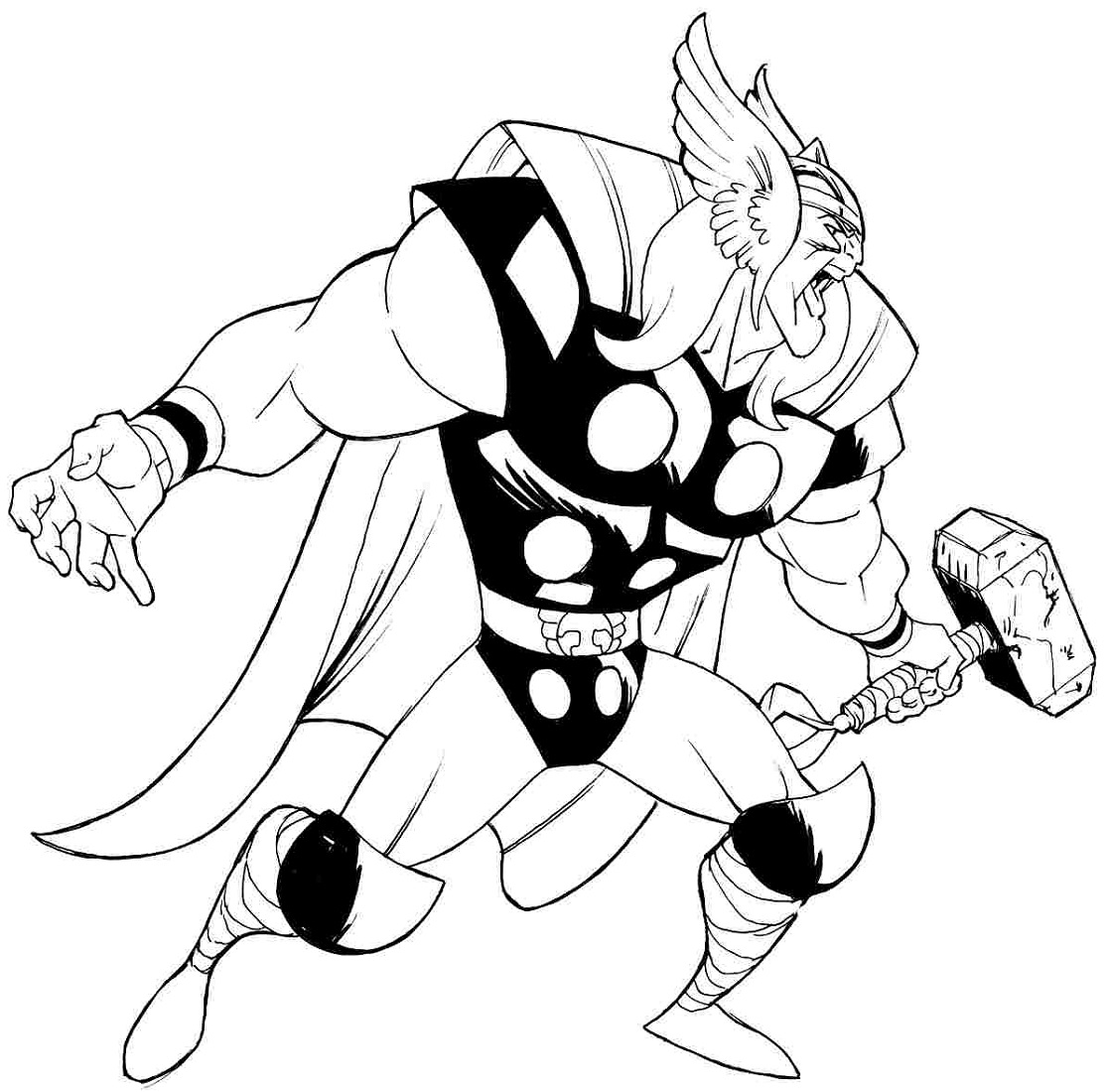 Free Coloring Pages to Print Hero