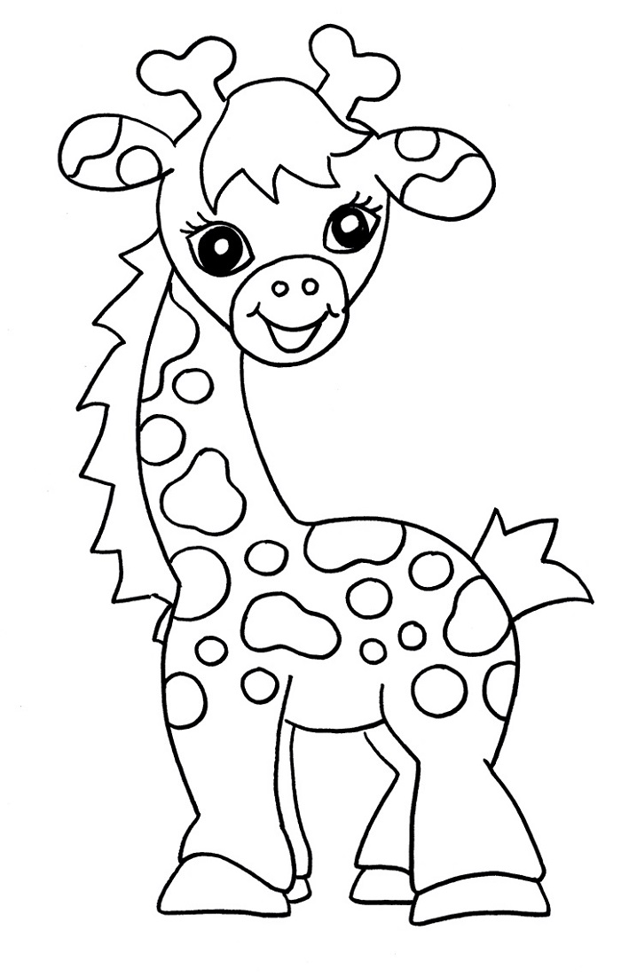 Free Coloring Sheets for Kids Animal