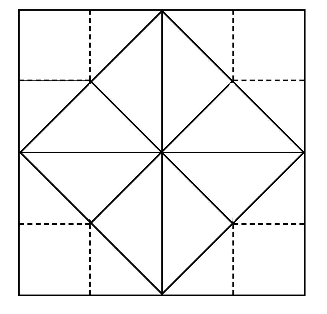blank fortune teller paper game