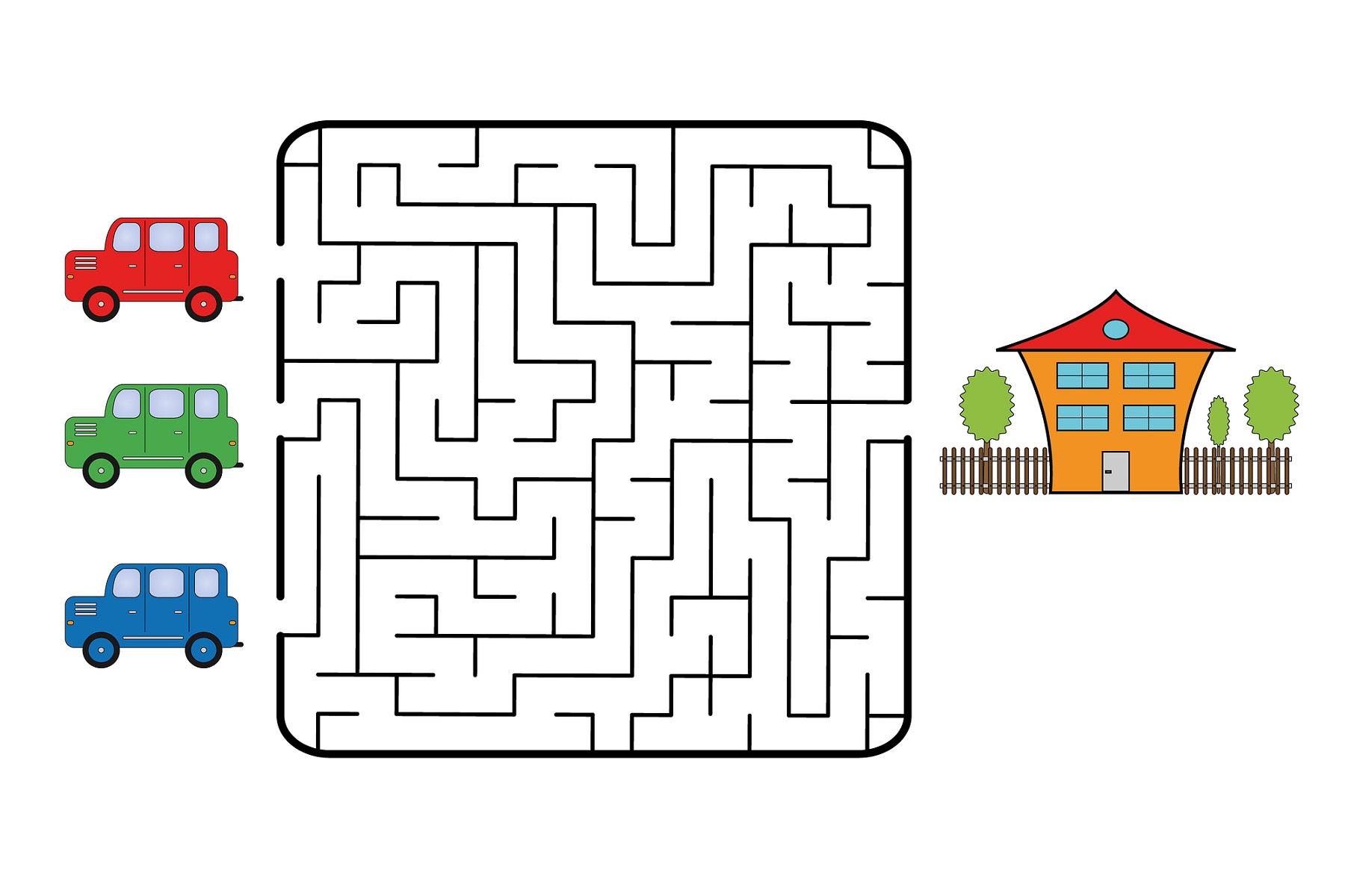 free kids mazes games