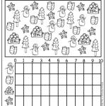 winter homework for preschool printable