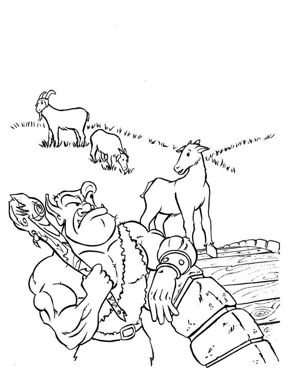 fun three billy goats gruff activities