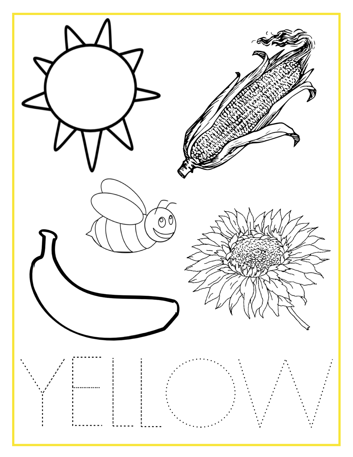 coloring learning activities for preschoolers printables