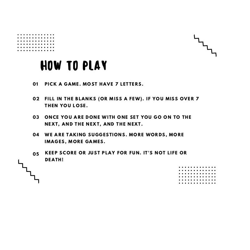 free hangman game rules