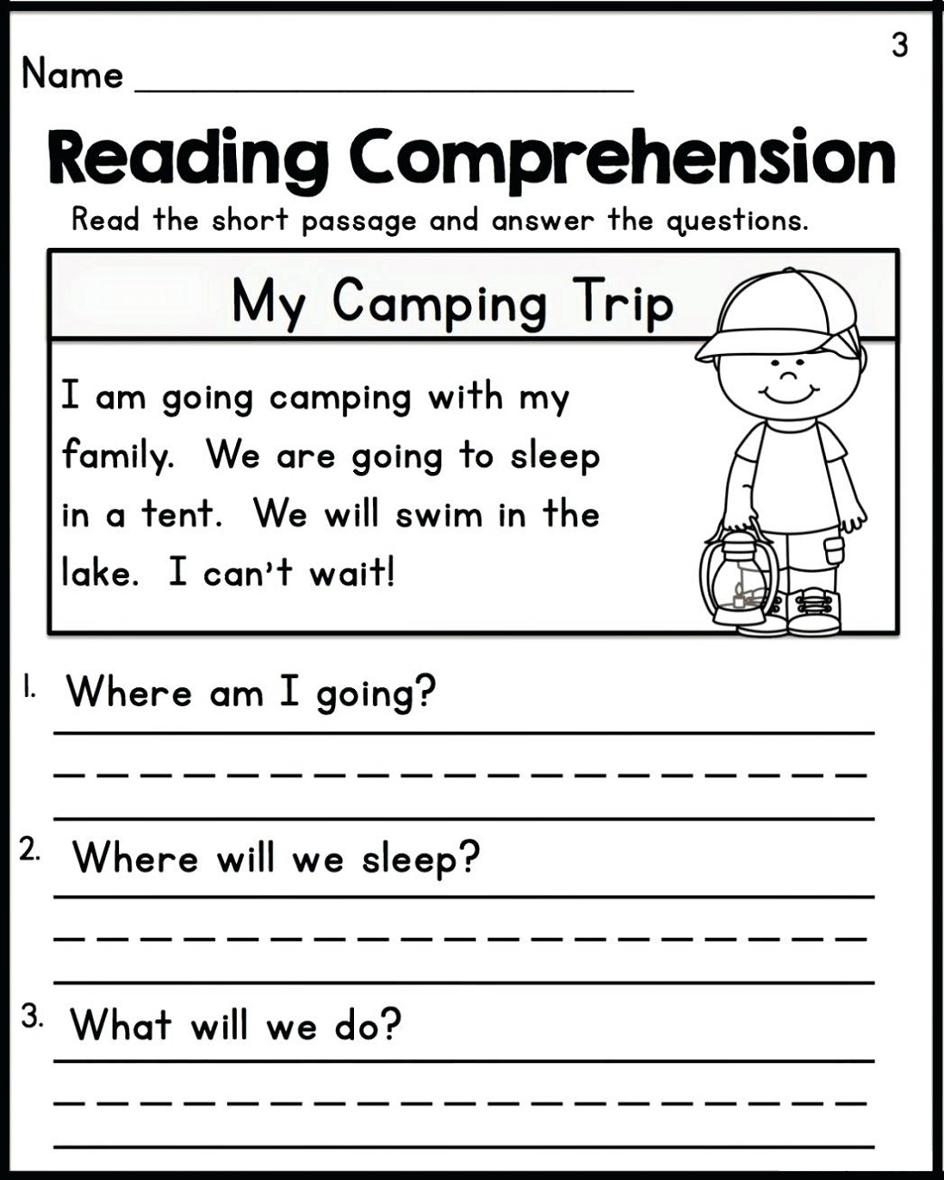 free literacy worksheets for year 1