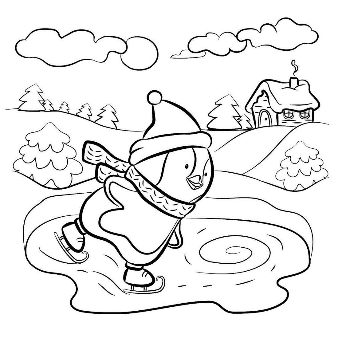 winter free printable activities for kindergarten