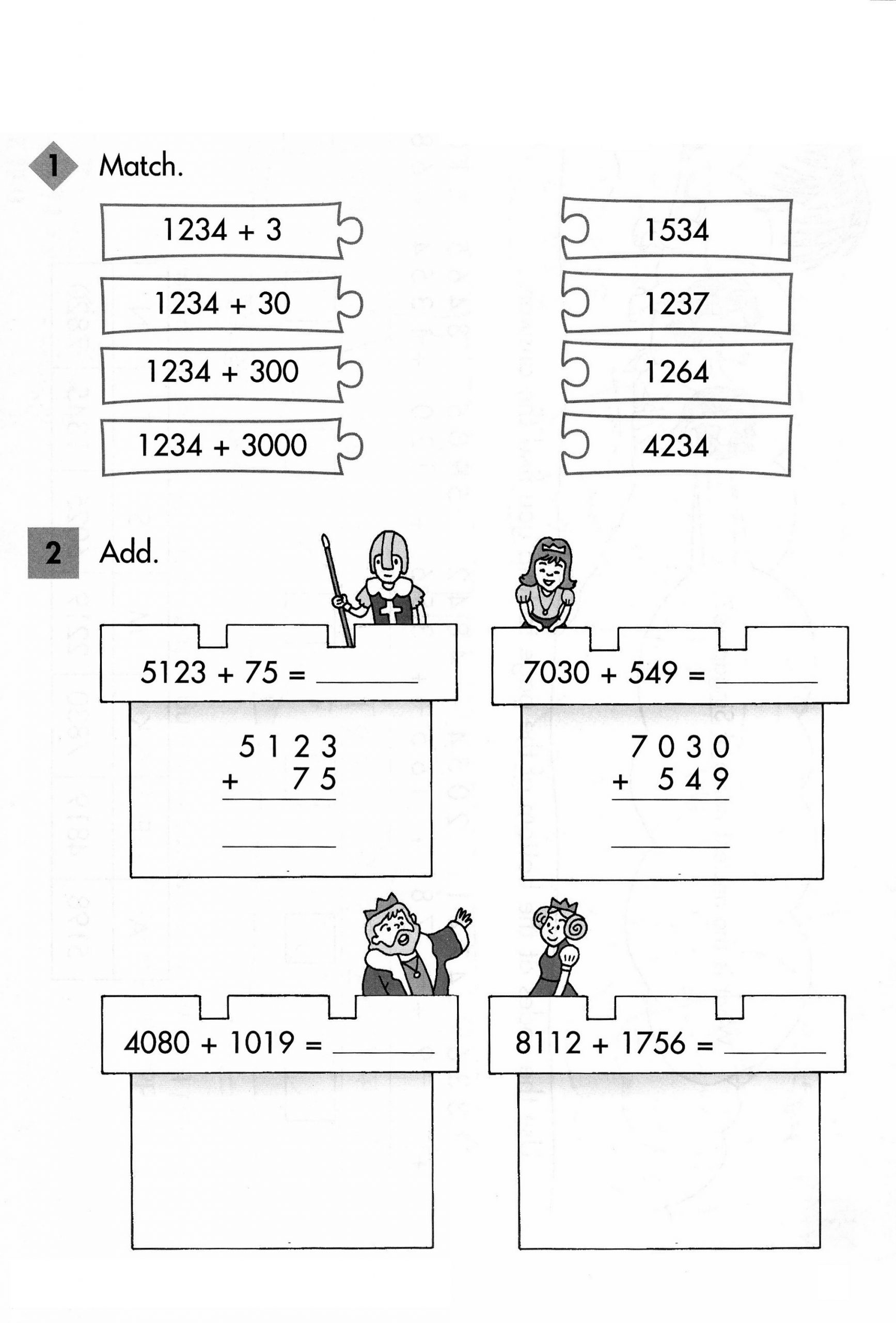 addition primary maths worksheets free printable