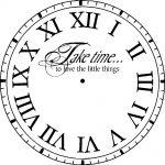 graphic clock face templates