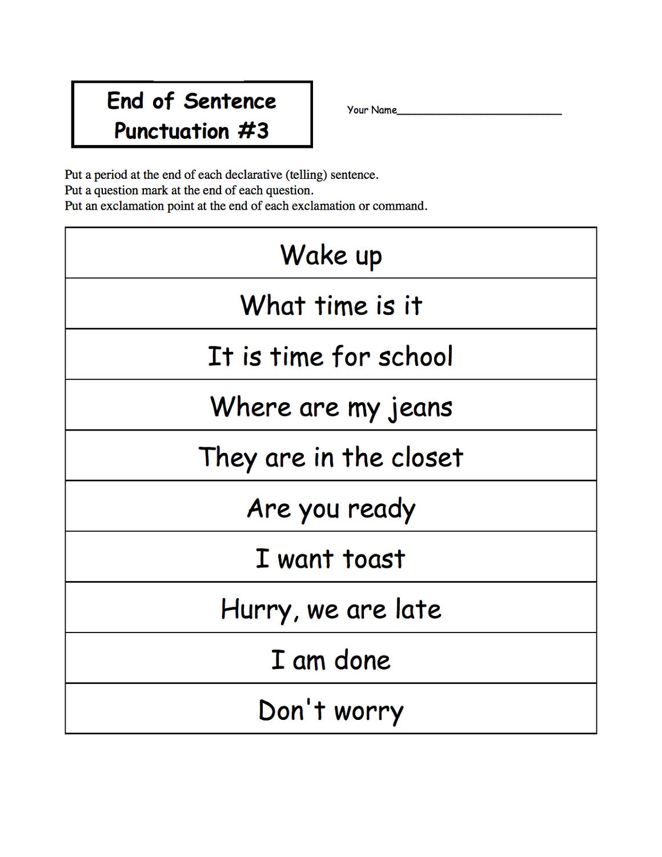 setences ks1 worksheets free printable